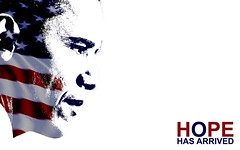 Hope Has Arrived (niteprowl3r) Tags: election president democrats democrat 2009 obama democratic inauguration elect election2008 barackobama barack election08 presidentobama