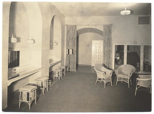 Figueroa Playhouse Dressing Room, c. 1925
