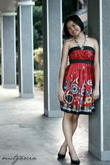 Pillars (ilovestrawberries (Carmi)) Tags: fashion dress satin angeline ilovestrawberries mctgarcia mctg elbichic