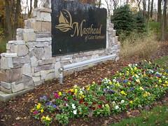 Masthead sign