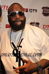 rick ross ....probably got chewed out by his LT after he and his squad couldnt keep the peace
