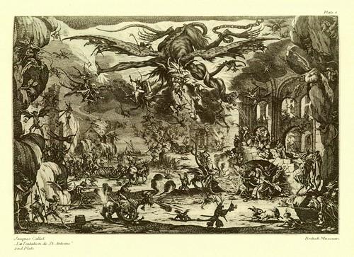 003- La tentacion de San Antonio -Jacques Callot