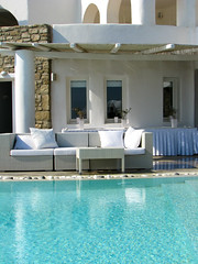 Sit by the pool (Carlitos) Tags: water pool island hotel agua europa europe greece grecia isla cyclades mykonos alberca agiosstefanos ellda  cicladas    rocabellaarthotel