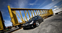 Mercedes CLS 55 on 360 Forged Straight 5ive (360 Forged) Tags: sky clouds lens mercedes nikon florida miami 5 five wheels sigma 360 tires mia d200 straight 55 rims fla epic forged concave cls 5ive nitto hre vossen hrewheels adv1 vossenwheels 360forged advanceone deepconcave adv1wheels adv05