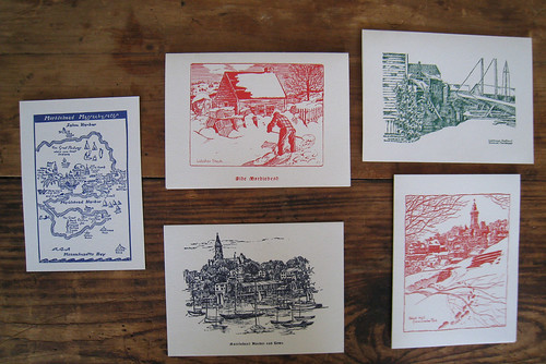 Assorted Marblehead Christmas Cards