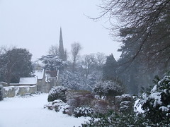 Rushden Hall Park in the snow (Wire_cat) Tags: winter snow scenery parks rushden hallpark wirecat rushdenhallpark