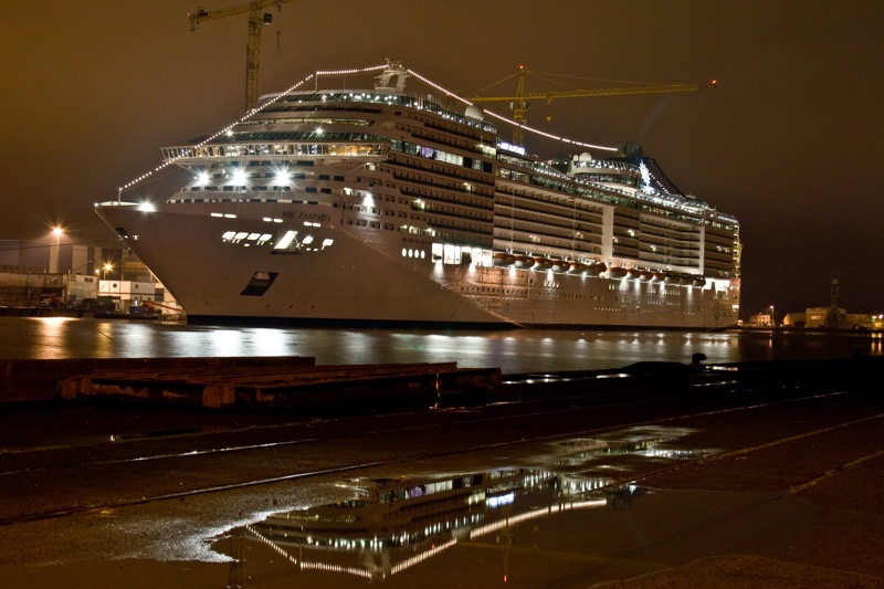 MSC Fantasia By Night