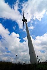 (flyyen) Tags: blue sky wind turbine penghu windfarm  windpower  canoneos450d tokina1116mmf28