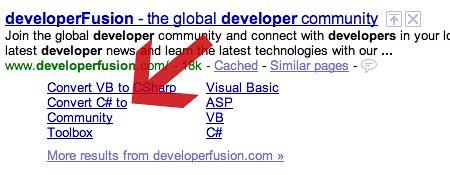 Google Sitelinks Issue