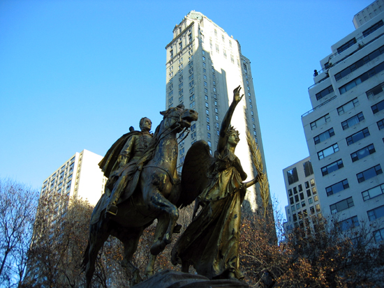 Sherman Monument (Click to enlarge)