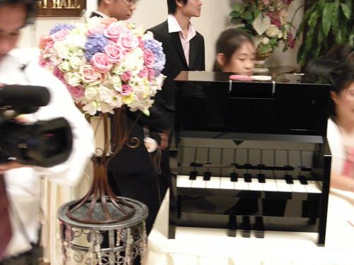 เปียโนจิ๋วสำหรับใส่ซอง