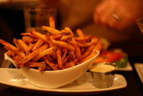 Fries with Truffle Fontina Fondue