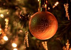 Spirit of Christmas 2008 (A Sutanto) Tags: christmas tree yellow night gold lights design pattern bokeh decoration ornament 2008