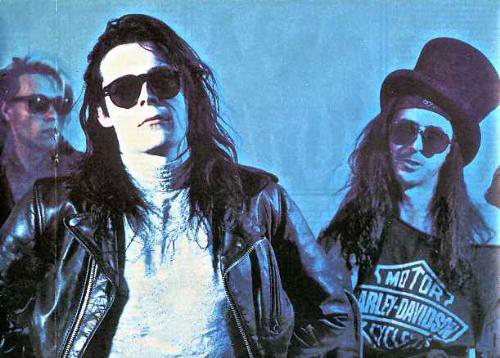 The Sisters of Mercy en Lima Peru Andrew Eldritch