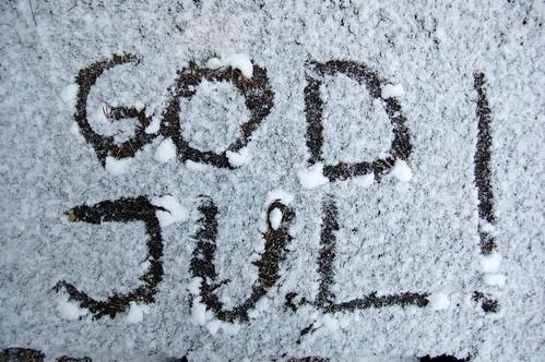 Tillräckligt med snö för stt skriva i
