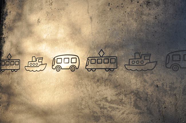Kall busskur