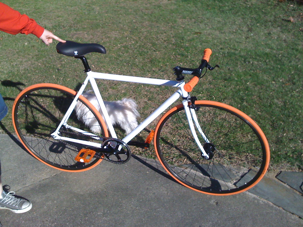 Bikes Direct Kilo Tt Pro Cream cm Kilo TT frameset