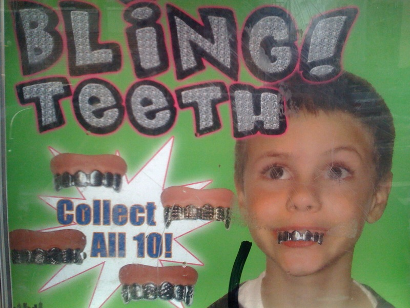 Bling Teeth: Collect All 10!