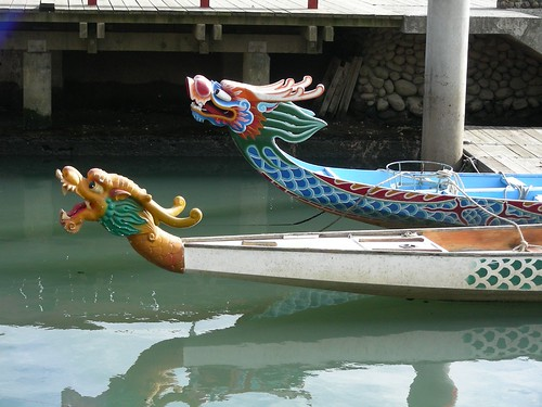 三腳渡碼頭-龍舟