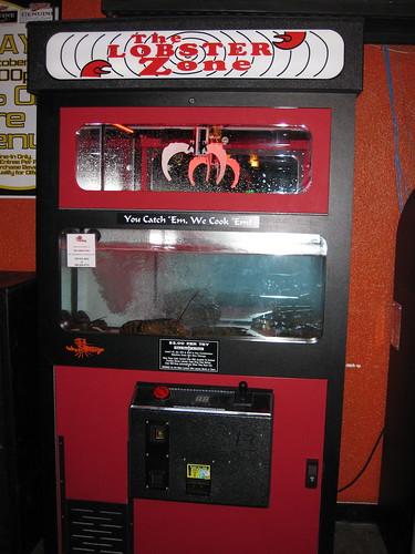 Lobster Zone máquina de langostas