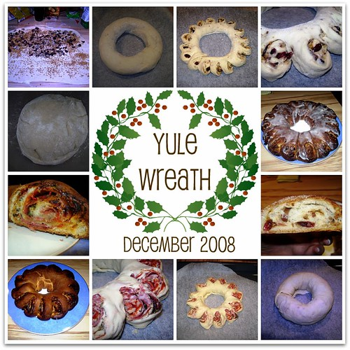 Bread Baking Babes' Yule Wreath