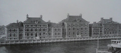 Jersey City, NJ Ellis Island hospital c1910 (army.arch) Tags: nyc newyorkcity ny hospital nationalpark historic newyorknewyork ellisisland historicpreservation thenandnow vintagephoto historicphoto jerseycitynewjersey edwardlippincotttilton williamalciphronboring