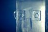 at the famous ice hotel, sweden (rosie lush) Tags: cold art ice hotel design robot eyes sweden kiruna brrr winterwonderland