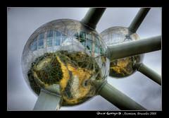 Atomium, Brusselles 2008 (HDR) (scar Garriga) Tags: brussels belgium sony bruselas alpha belgica atomium hdr brusels brusselles