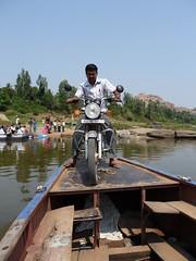 River Ferry - Hampi