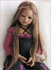 My Ajescha has arrived !!! (MiriamBJDolls) Tags: doll vinyl 2008 limitededition annettehimstedt himstedtkinder summerkinder ajescha
