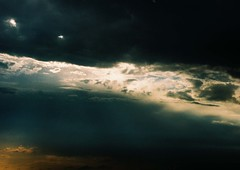 Split Sky (Iulian Dumitru) Tags: light sunset sky film clouds creation romania jupiter8 zorki6
