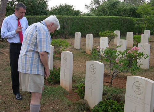 Visit to Commonwealth War Grave