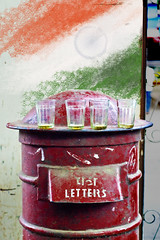 Independence, Chai and a Letter Box in Bombay (Anoop Negi) Tags: world red portrait india west color colour glass dedication happy photography for glasses photo media day place post image tea photos box empty delhi indian letters bangalore creative culture 15 august images best photograph bombay po letter postal letterbox tradition independence mumbai anoop 2009 department chai journalism • negi elphinstone índia photosof הודו ezee123 độ bestphotographer هندوستان индия imagesof anoopnegi індія индија jjournalism •ינדיאַ •الهند •بھارت •อินเดีย •ấn •インド •印度 •인도