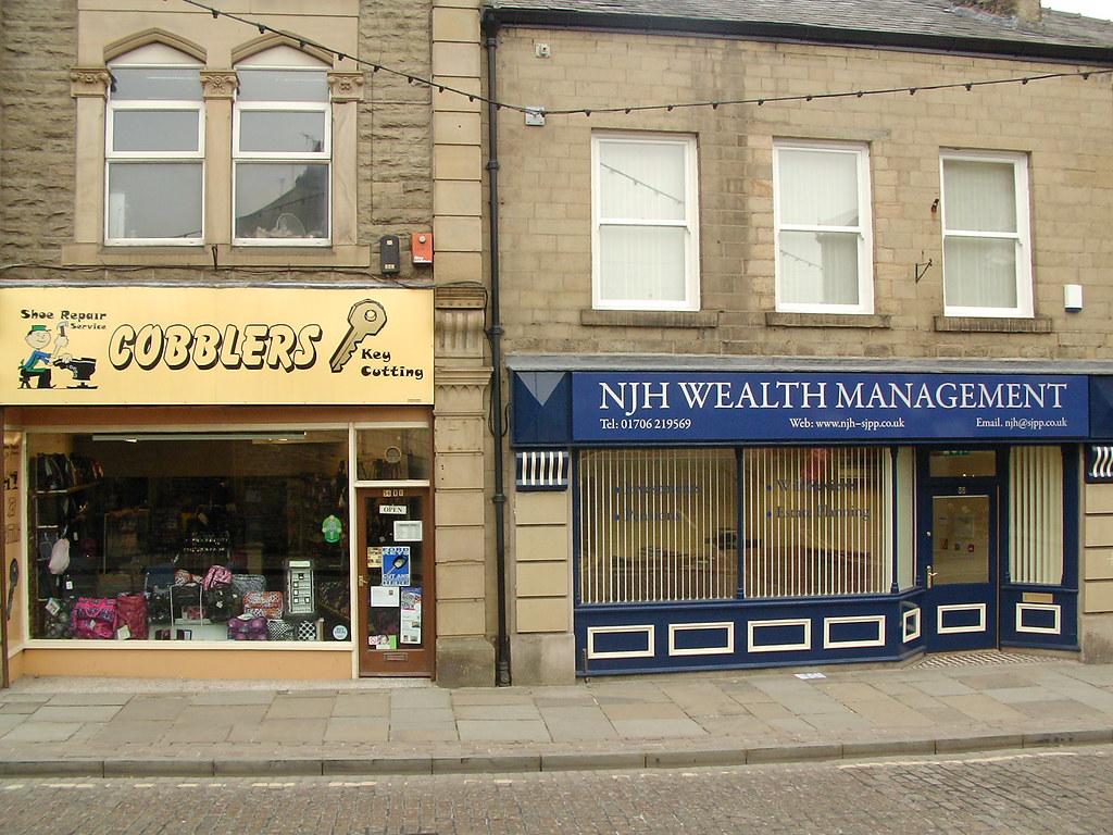 Wealth Management?   -  Cobblers!