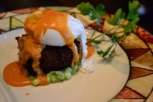 DC - Cuba Libre Crabcake and Poached Egg