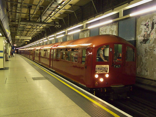 1938 stock at Heathrow Terminals 1, 2 and 3