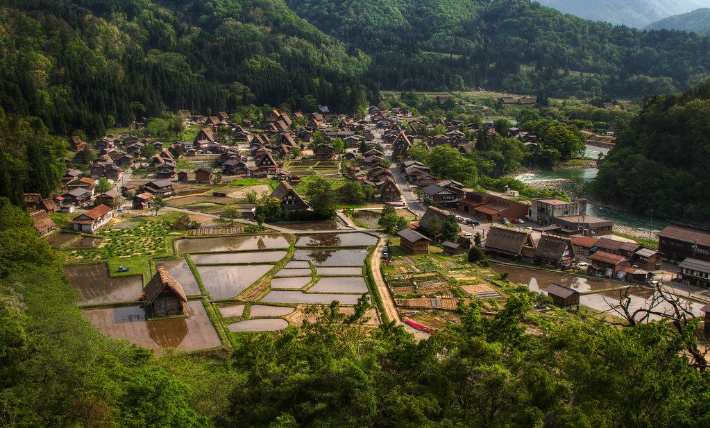 The Beautiful Village of Ogimachi