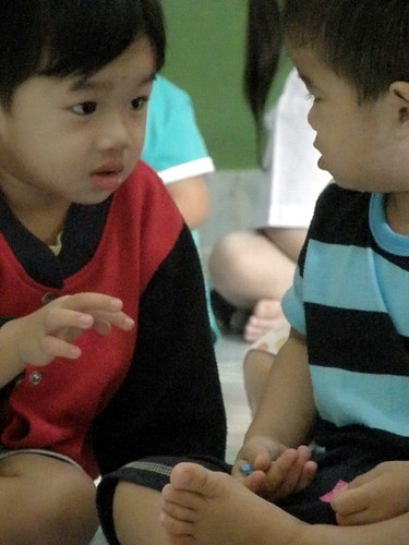 Kids at a Bangkok Daycare