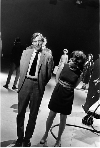 Rufus on the set in the '60s