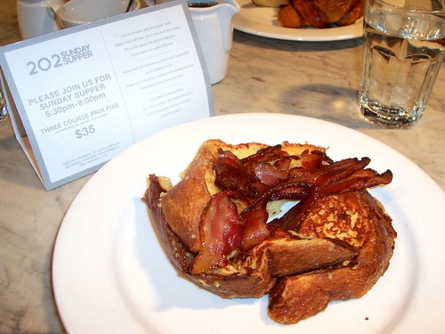 Our Favourite Breakfast - French Toast at 202 in Chelsea