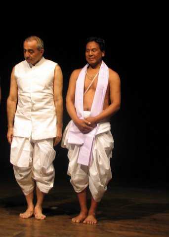 Astad Deboo and Guru Seityaban rhythm divine Ranga Shankara 260208