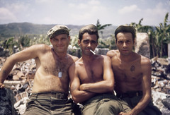 1945 Okinawa 17 (mgsmith) Tags: color geotagged army war pacific wwii soldiers okinawa 1945 jerrysmith 718thamphibioustractorbattalion amphibioustractor 718thamtracbattalion 718thamtrac