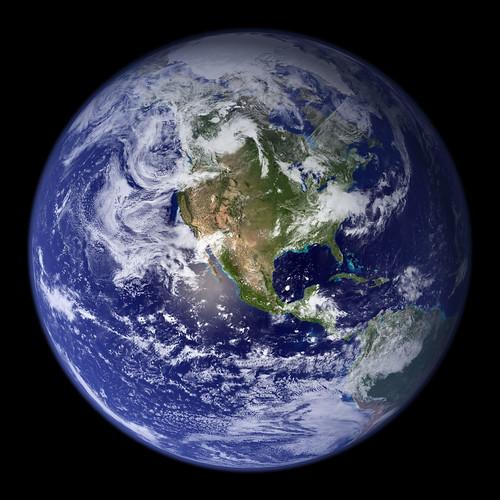 Globe terrestre NASA