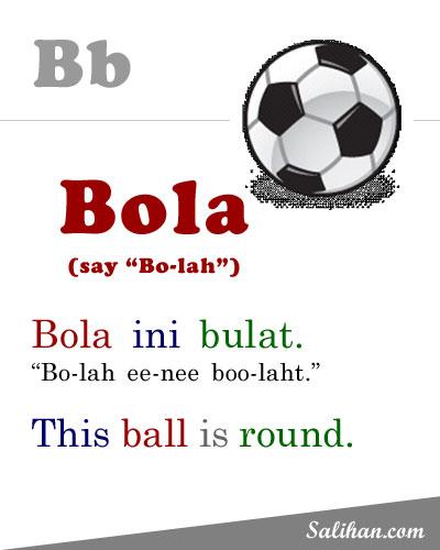B=Bola