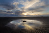 The Depths Of My Soul (BarneyF) Tags: sky cloud color reflection beach landscape puddle sand wirral merseyside caldy riverdee firstquality deeestuary mywinners