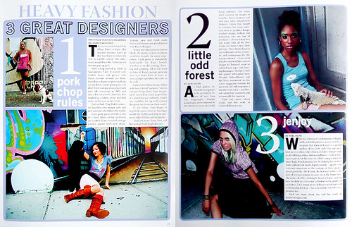 littleoddforest in shut up! magazine