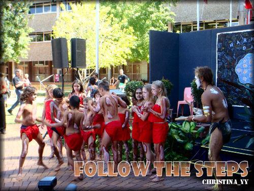 USQ Harmony Day 2008: Follow The Steps