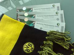 Tickets für das DFB-Pokalfinale 2008 in Berlin