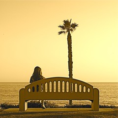 (SmartAnnie (Away)) Tags: sepia orangecounty oc sanclemente solitary magical artisticexpression fineartphotos goldstaraward firstdatescanbeawkward picturesofmysteriousstrangers