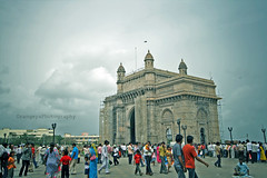 The Gateway of India (Orangeya) Tags: people india clouds person asia dad lulu indian jr gateway persons mumbai lolo ever coolest saleh the bombai albandri  orangeya 0rangeya saloh